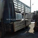 สีจราจรทาถนน สีขาว TRI-STAR (มอก.) จำนวน 500 ถุง ส่งออกไปเมียวดี ประเทศพม่า