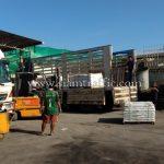 สีเทอร์โมพลาสติก สีขาว TRI-STAR (มอก.) จำนวน 500 ถุง ส่งออกไปเมียวดี ประเทศพม่า