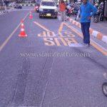 thermoplastic road marking service มหาวิทยาลัยบูรพา