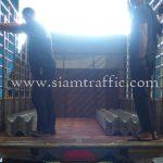 guardrail กรมทางหลวง มอก.248-2531 อำเภอปลายพระเยา จังหวัดกระบี่