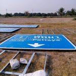 traffic signs ทางหลวงพิเศษหมายเลข 7 ตอน บางปะกง - พัทยา ระหว่าง กม.72+582 – กม.117+076
