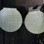 เป้าสะท้อนแสงสำหรับติดการ์ดเรล บนทางหลวงหมายเลข 4 ตอน หงาว – อ่าวเคย