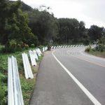 w-beam guard rails บนทางหลวงหมายเลข 4 ตอน หงาว – อ่าวเคย ระหว่าง กม.620+000 – กม.624+261