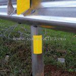 guard rail ทางหลวงหมายเลข 41 ตอนควบคุม 0102 ตอนเขาบ่อ – ท่าทอง