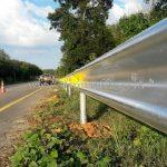 guard rail CLASS I TYPE II ปริมาณงาน 588 เมตร แขวงทางหลวงชุมพร