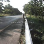 ราวกันอันตราย ทางหลวงหมายเลข 37 ตอนควบคุม 0200 ตอนวังโบสถ์ - ปราณบุรี