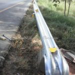 w beam galvanized road guard rails ทางหลวงหมายเลข 37 ตอนควบคุม 0200 ตอนวังโบสถ์ - ปราณบุรี