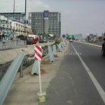 guardrails ทางหลวงหมายเลข 37 ตอนควบคุม 0200 ตอนวังโบสถ์ - ปราณบุรี