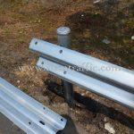 งานติดตั้ง guardrails Class I Type I ปริมาณงาน 1,200 เมตร บางปิ้ง – บางตำหรุ แขวงทางหลวงสมุทรปราการ