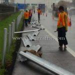 จ้างเหมาผลิตพร้อมติดตั้ง w beam guardrails บนทางหลวงพิเศษหมายเลข 7 ปริมาณ 316 เมตร