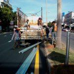 guardrail CLASS I TYPE II แขวงทางหลวงฉะเชิงเทรา