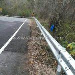 w-beam guard rails แขวงทางหลวงลำพูน ลี้ - ก้อทุ่ง ลี้ - พระบาทตะเมาะ แม่เทย - ทุ่งหัวช้าง