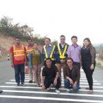 การสาธิตวิธีการตีเส้นถนนด้วยเครื่องตีเส้น kawkareik လက်တွေ့လမ်းမျဥ်းဆွဲစက်နဲ့လမ်းမျဥ်းဆွဲပြခြင်း kawkareik