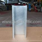 Blockout lip channel steel สำหรับติดตั้งการ์ดเรล DWG NO. RS-604