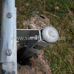 w beam guardrail ตามแบบมาตรฐานกรมทางหลวง เลขที่ DWG.NO.RS-605 แขวงทางหลวงพิเศษระหว่างเมือง ทางหลวงพิเศษหมายเลข 7 ตอน บางปะกง – หนองรี ปริมาณงานรวม 1,572.00 เมตร
