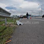 W-Beam Guardrail ตามแบบมาตรฐานกรมทางหลวง เลขที่ DWG.NO.RS-606 แขวงทางหลวงพิเศษระหว่างเมือง ทางหลวงพิเศษหมายเลข 7 ตอน บางปะกง – หนองรี ปริมาณงานรวม 1,572.00 เมตร