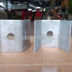 steel plate สำหรับติดตั้งราวกันอันตราย