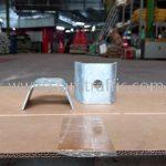 steel plate สำหรับติดตั้งราวกันชน DWG NO.RS-606