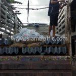 ราวกันอันตราย มอก. 248-2531 จำนวน 180 แผ่น ส่งไปบ้านรักไทย จังหวัดแม่ฮ่องสอน