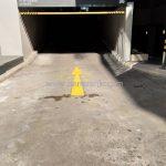 ตีเส้นถนน ที่บริษัท กรุงเทพประกันภัย จำกัด