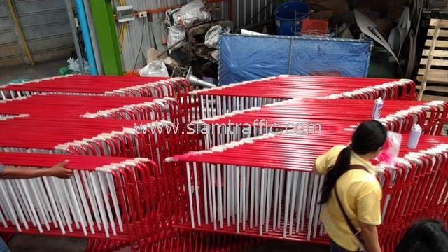 ที่กั้นห้ามจอดรถ จำนวน 150 แผง CentralPlaza Nakhon Ratchasima