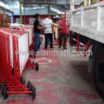 แผงกั้นล้อเลื่อน CentralPlaza Nakhon Ratchasima