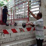 ที่กั้นห้ามจอดรถ CentralPlaza Nakhon Ratchasima