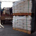 Thermoplastic สีขาว จำนวน 1,000 ถุง ส่งไปประเทศพม่า