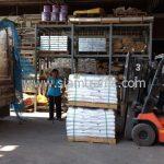 สีเทอร์โมพลาสติก ตีเส้นถนน สีขาว จำนวน 1,000 ถุง ส่งไปประเทศพม่า