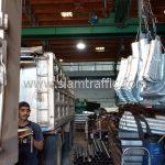 โรงงานผลิตการ์ดเรล สำหรับติดตั้งที่ ทางหลวงหมายเลข 1098 แขวงทางหลวงเชียงรายที่ 2