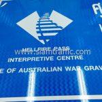 HELLFIRE PASS INTERPRETIVE CENTRE OFFICE OF AUSTRALAIN WAR GRAVES sign