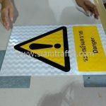 ป้ายความปลอดภัย ระวังอันตราย ขนาด 30 x 45 เซนติเมตร