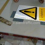 Safety sign ระวังอันตราย ขนาด 30 x 45 เซนติเมตร