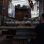 แผ่นการ์ดเรลหนา จำนวน 127 แผ่น ส่งไปบ้านรักไทย-บ้านปางคอง จังหวัดแม่ฮ่องสอน