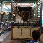 ราวกันตกเหล็ก ขนส่งไปยังประเทศกัมพูชา