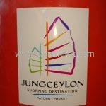 กรวยพลาสติกติดโลโก้ Jungceylon shopping destination patong-phuket