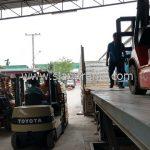 สี thermoplastic จำนวน 1,500 ถุง ส่งไปประเทศพม่า