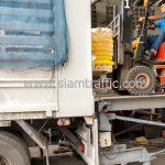 สีเทอร์โมพลาสติก จำนวน 1,500 ถุง ส่งไป เมืองเมียวดี ประเทศพม่า