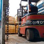 สีเทอร์โมพลาสติกสีเหลือง มอก.542-2549 จำนวน 500 ถุง ส่งไปประเทศพม่า