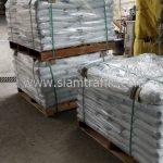 สีเทอร์โมพลาสติกสีขาว จำนวน 1,000 ถุง ส่งไปประเทศพม่า