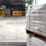 สีตีเส้นจราจร จำนวน 1,500 ถุง ส่งไปประเทศพม่า