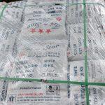 สีตีเส้นจราจรสีขาว จำนวน 1,000 ถุง ส่งไปประเทศพม่า