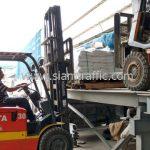 ขายสีเทอร์โมพลาสติกสีขาว จำนวน 1,000 ถุง ส่งไปประเทศพม่า