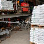 สี thermoplastic สีขาว จำนวน 1,000 ถุง ส่งไปประเทศพม่า