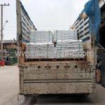 สีเทอร์โมพลาสติกสีขาว มอก.542-2549 จำนวน 1,000 ถุง ส่งไปประเทศพม่า