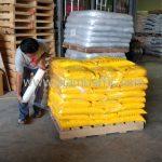 ขายสีเทอร์โมพลาสติกสีเหลือง จำนวน 500 ถุง ส่งไปประเทศพม่า