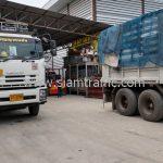 สีเทอร์โมพลาสติก มอก.542-2549 จำนวน 1,500 ถุง ส่งไป เมืองเมียวดี ประเทศพม่า