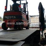 สีเทอร์โมพลาสติกสีขาว TRI-STAR มอก.542-2549 จำนวน 1,000 ถุง ส่งไปประเทศพม่า