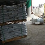 สี thermoplastic สีขาว TRI-STAR มอก.542-2549 จำนวน 1,000 ถุง ส่งไปประเทศพม่า