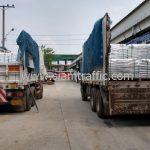 สีเทอร์โมพลาสติก TRI-STAR จำนวน 1,000 ถุง ส่งไปเมืองเมียวดี ประเทศพม่า